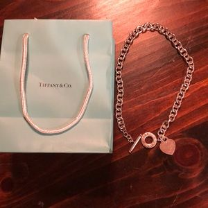 Tiffany and Co toggle necklace